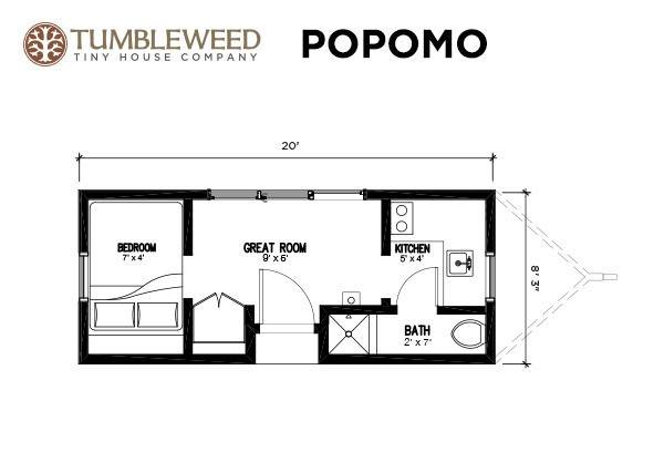 tumbleweed tiny house floor plans joy studio design ForTumbleweed Floor Plans