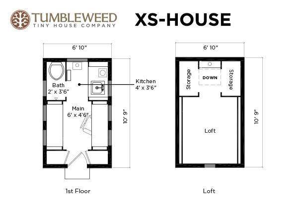 view in gallery xs house plans - Tumbleweed Homes