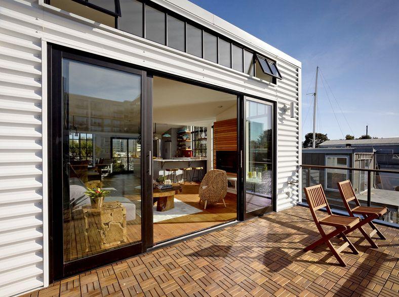 beautiful decked terrace