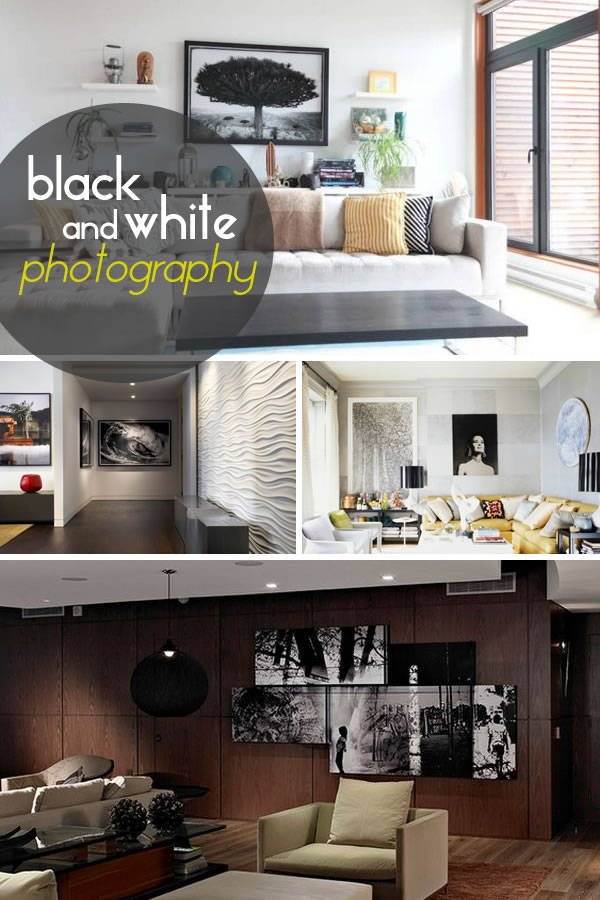 black and white photography for your walls Picture Perfect: Decorate With Black And White Photographs For Exquisite Interiors