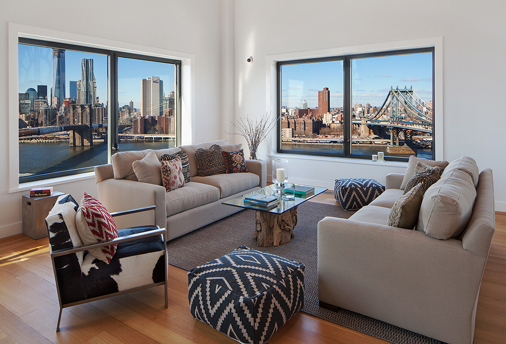 brooklyn penthouse - NYC views