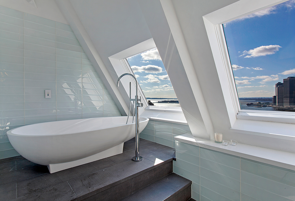 brooklyn penthouse bathroom
