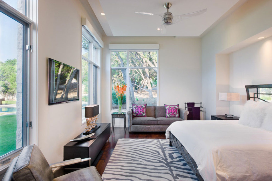 chic design bedroom ceiling fan