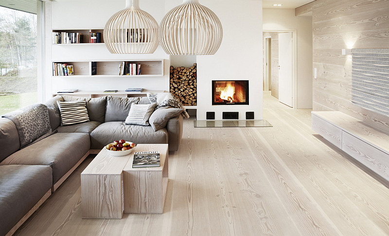 fancy living room Finland Worlds Most Beautiful Wood: The Dinesen Story
