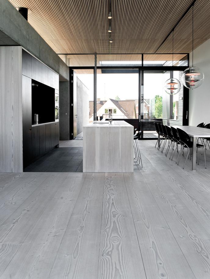 grey Dinesen wood - Denmark residence