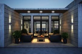 Dark Magic: Sophisticated Kiev Apartment With Striking Interiors And Panoramic Views