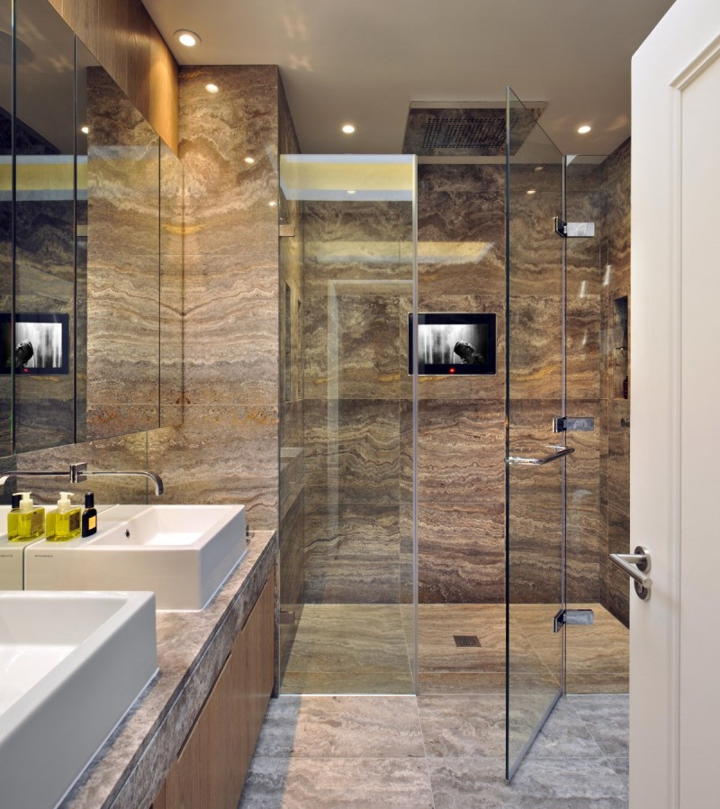 lavish bathroom