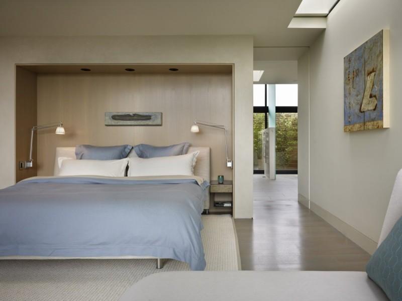 modern elegant bedroom design
