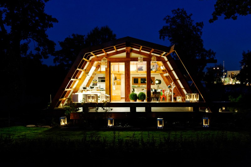 Cool Design For a Self Sustainable Home - Soleta ZeroEnergy One