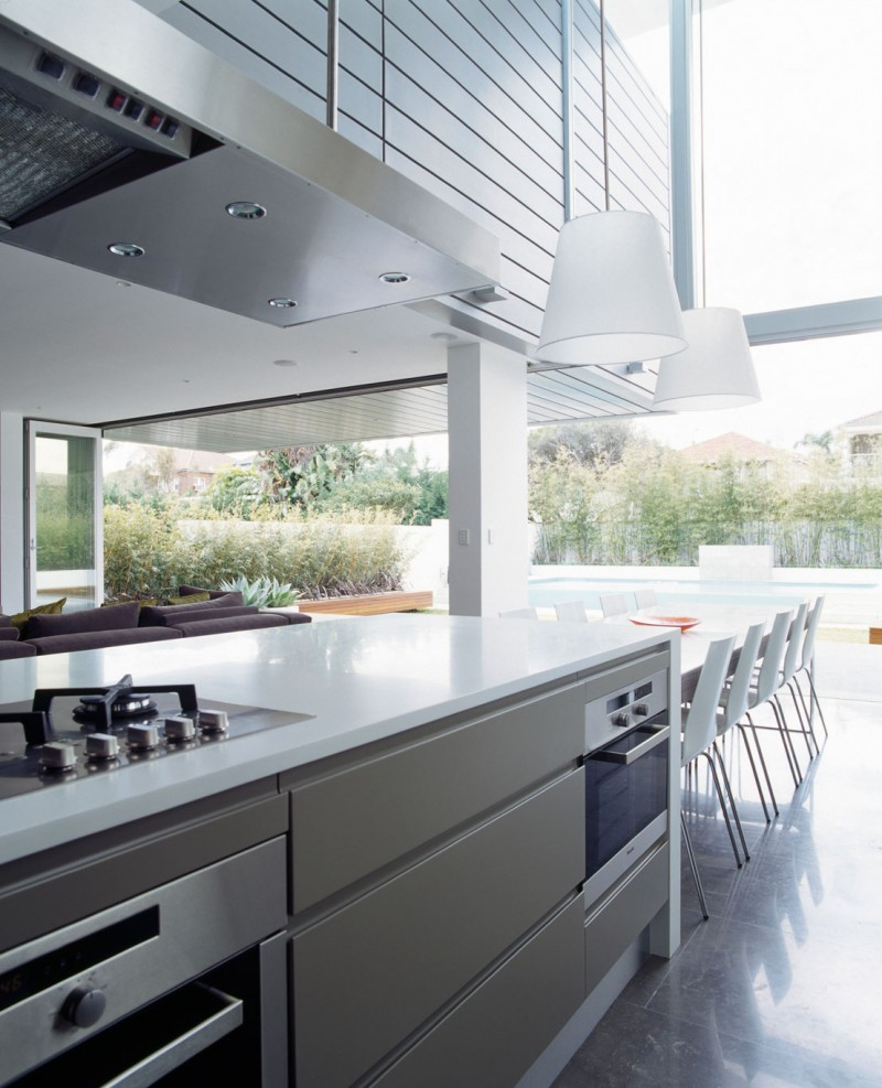 View in gallery open space kitchen decor