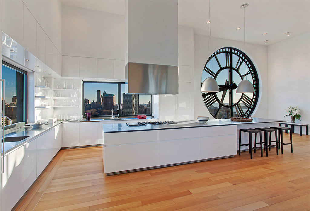 penthouse kitchen – brooklyn