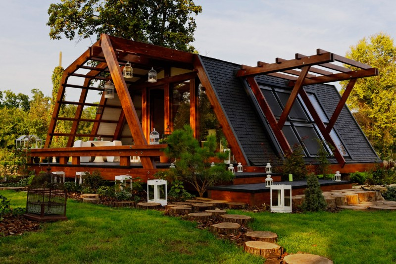 Cool Design For A Self Sustainable Home Soleta ZeroEnergy One