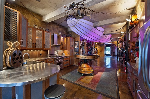Steampunk interior design ideas from cool to crazy for Crazy interior designs
