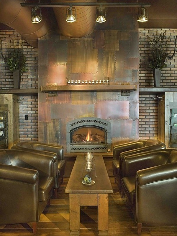 Steampunk interior design ideas from cool to crazy for Steampunk living room ideas