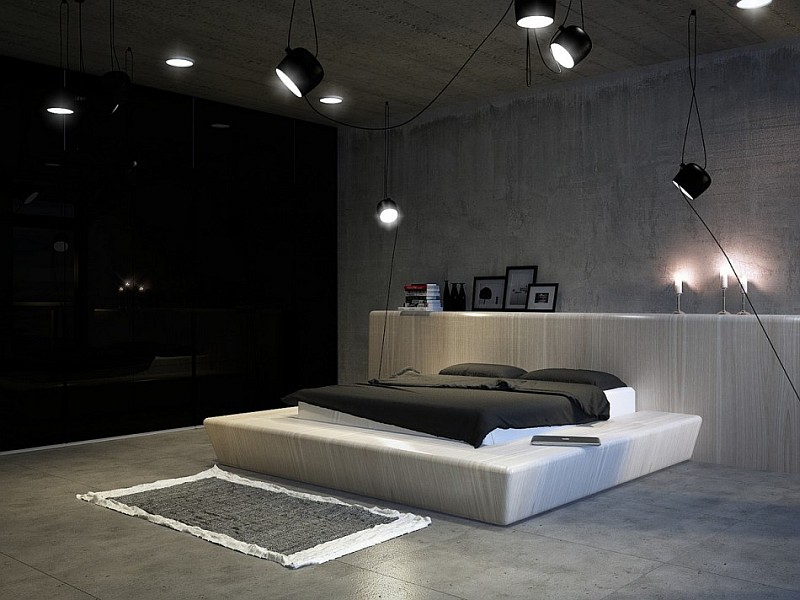 stylish modern bedroom