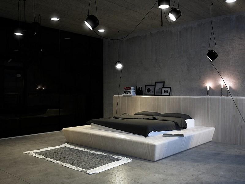 Dark Magic: Sophisticated Kiev Apartment With Striking Interiors ...
