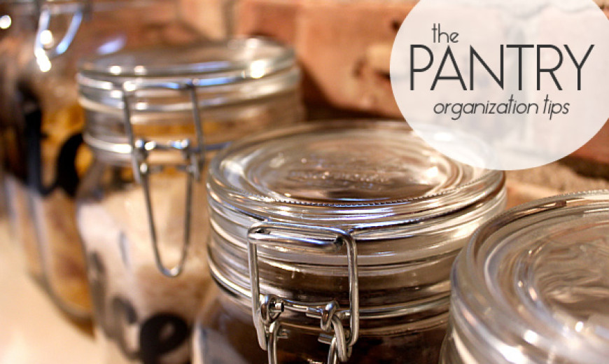 Getting Your Pantry In Shape: Seven Ideas that Make the Feeding Less Frenzied