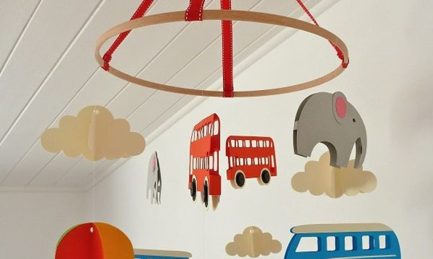 DIY Baby Mobiles for a Playful Decor Addition