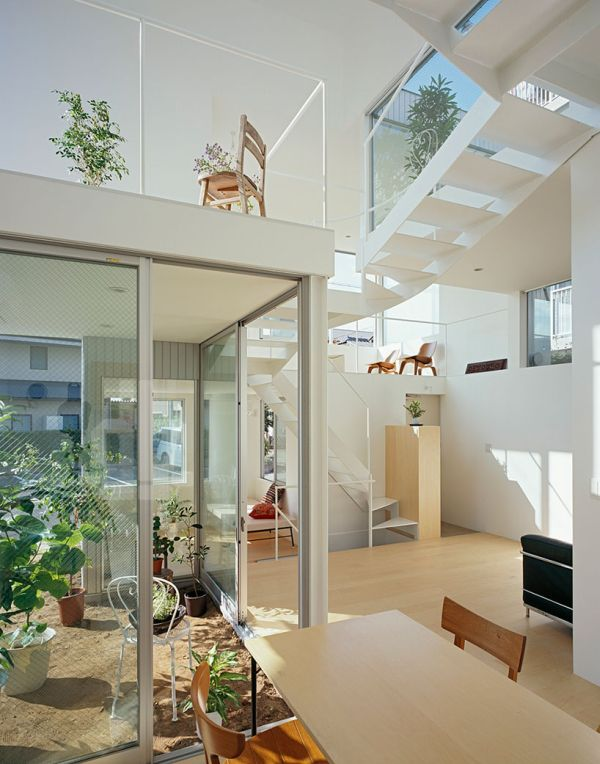 Ample space inside the house