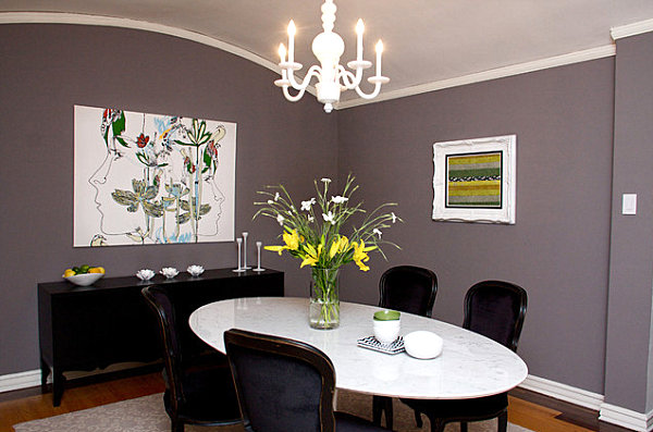 Artistic dining room