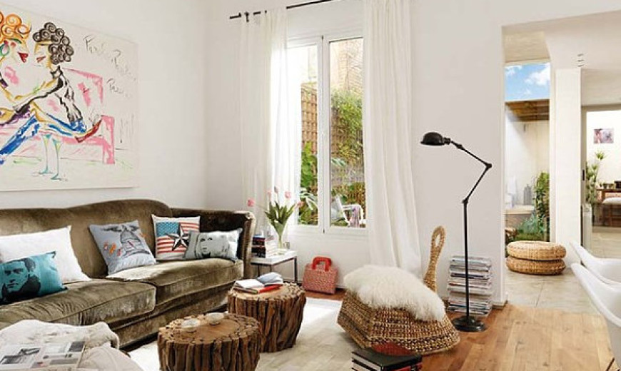 how to decorate a room with white walls