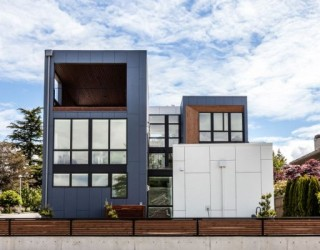 Modern Aurea Home in Seattle Blends Bright Interiors And Lovely Views