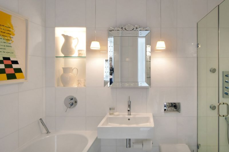 Bathrooms with a touch of elegance