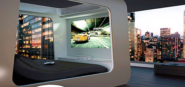 View In Gallery Bed Of The Future