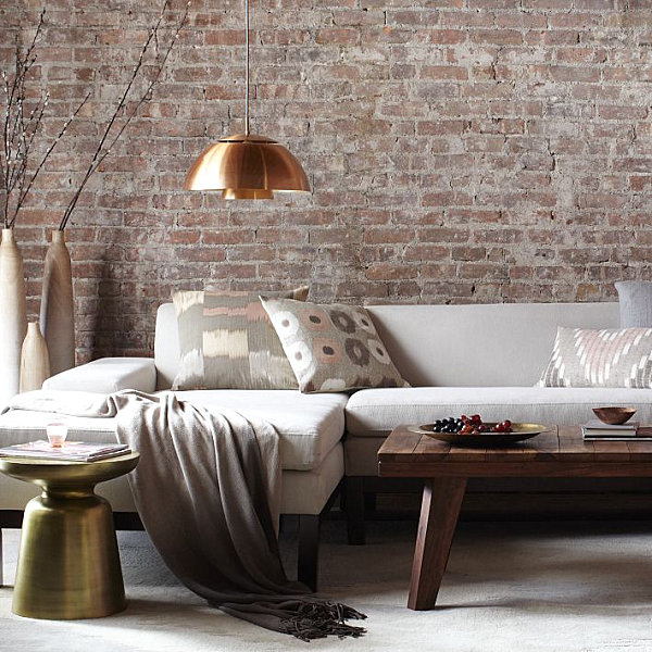 stunning modern living room accent wall | Three Stunning Color Palettes for Your Interior