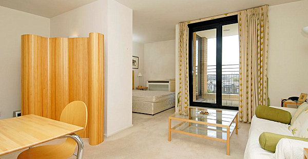 Studio Apartment Separate Sleeping Area studio apartments that make the most of their space