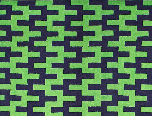 Chevron stairstep rug