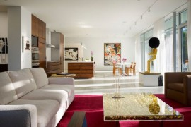 Gold Dust: Modern Interiors With Glittering Golden Shine