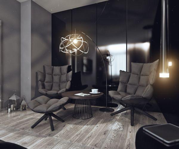 Minimalist Small Living Room: Minimalist Bachelor Pad Brings Sleek Style To The Single
