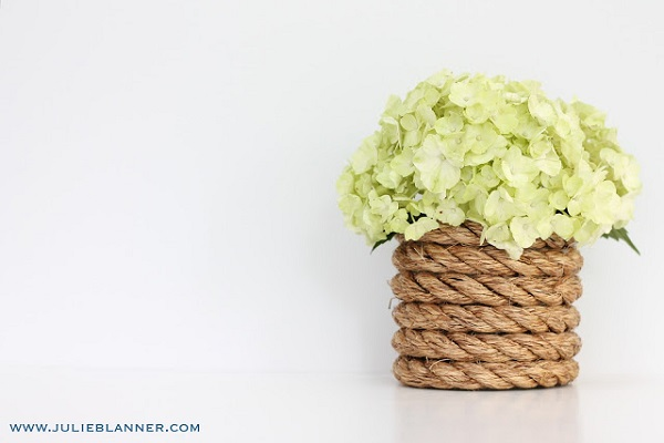 DIY Nautical Rope Vase DIY Vases Fit for a Beautiful Bouquet