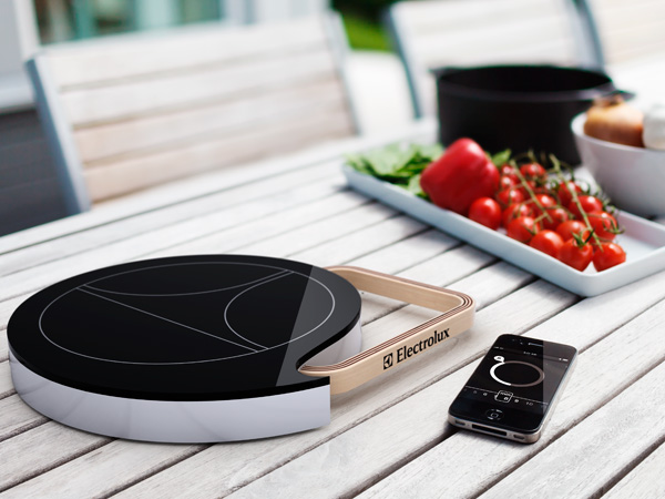 Electrolux portable induction cooktop