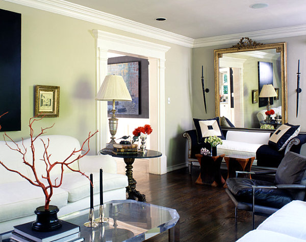 View In Gallery Elegant Eclectic Living Room