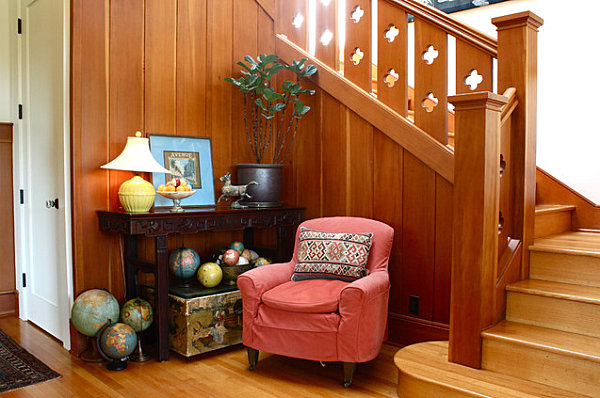 Entryway collection of globes
