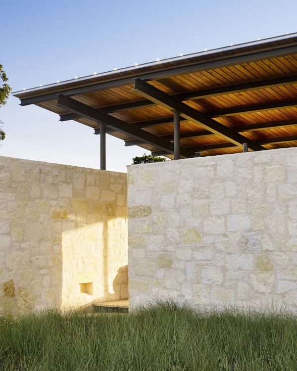 Ergonomic design of the house provides ample shade during daytime
