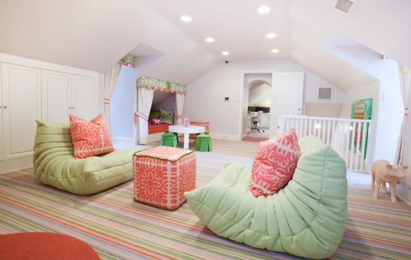 Exquisite kids' room paints a bubbly and colorful picture