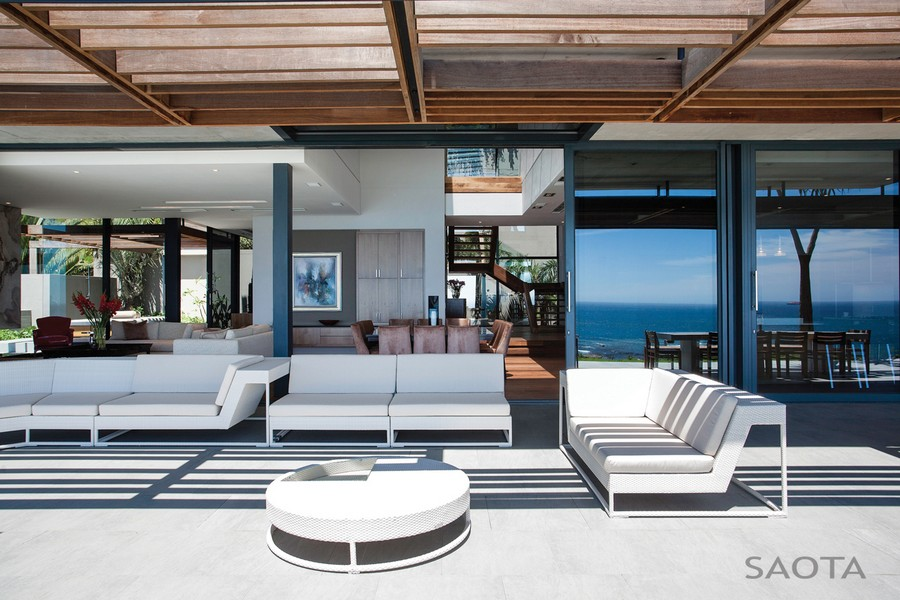 Exterior of Cape Town Home from SAOTA