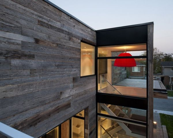 External wooden cladding of the Zen Barn