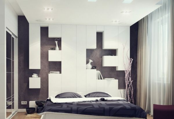 View in gallery Fabulous small bedroom embraces minimalism with style