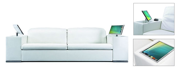 Futuristic Couches fast forward: home furniture & technology of the future