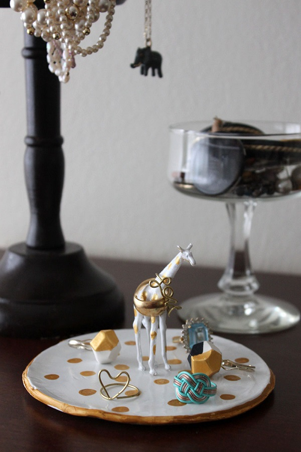 Giraffe ring dish DIY Jewelry Organizers