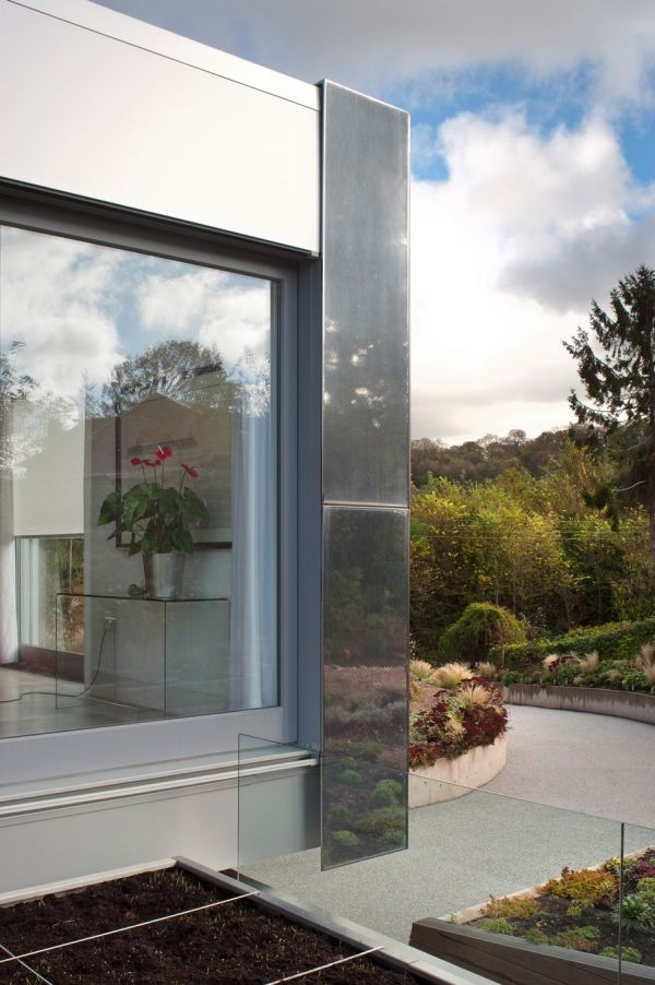 Glass offers visual connectivity with the world outside