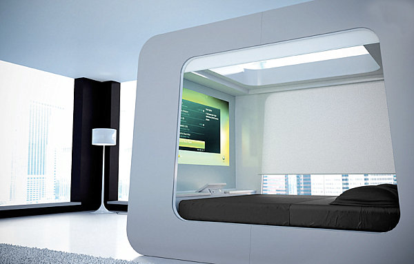 View In Gallery Hi Can Futuristic Bed