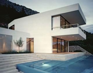 Ingenious House U In Croatia Offers Unabated Views Of The Adriatic Coast