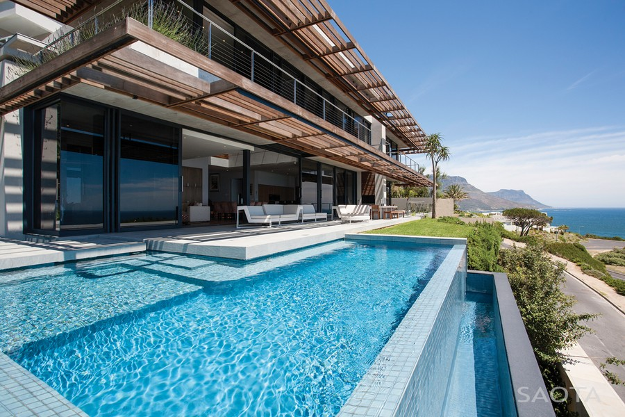 Kloof 151 project in Cape Town by SAOTA Modern Cape Town Residence Brings Stunning Ocean Views And Stylish Interiors