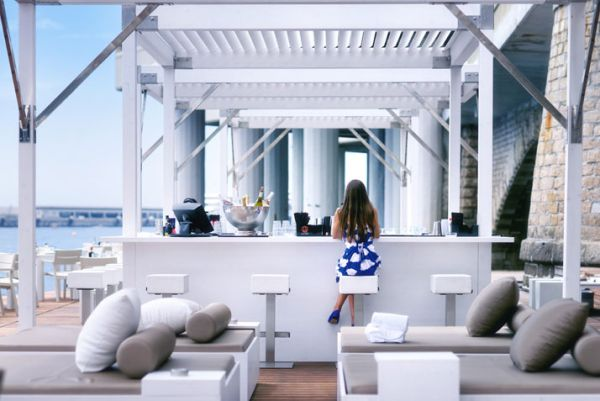 Luxury Floating Beach Bar And Terrace At Monaco Life Club