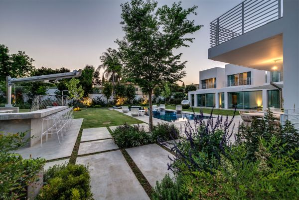 Lush green outdoors and the backyard